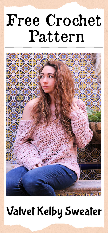 Free Crochet Valvet Kelby Sweater Pattern