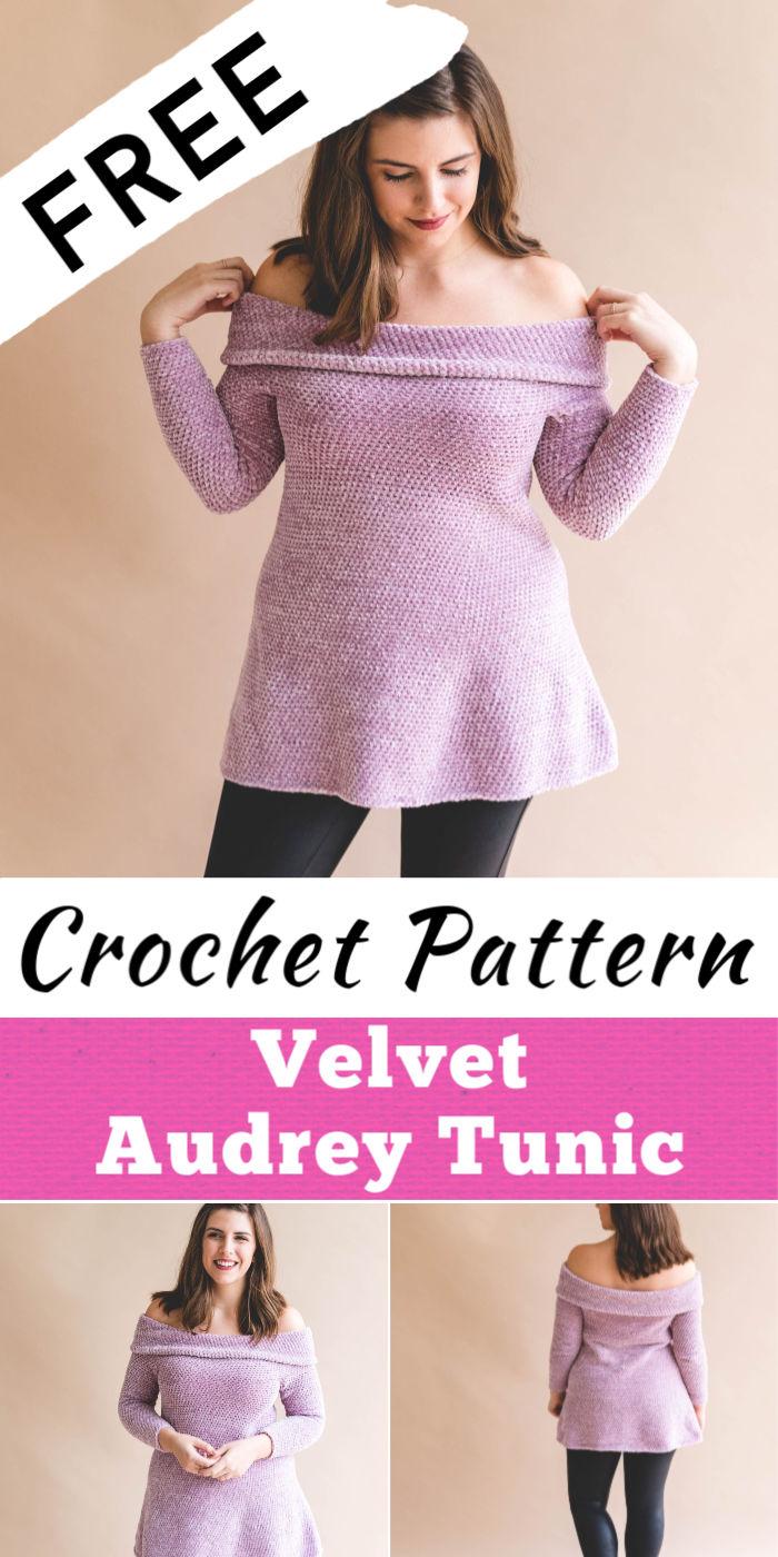 Free Crochet Velvet Audrey Tunic Pattern